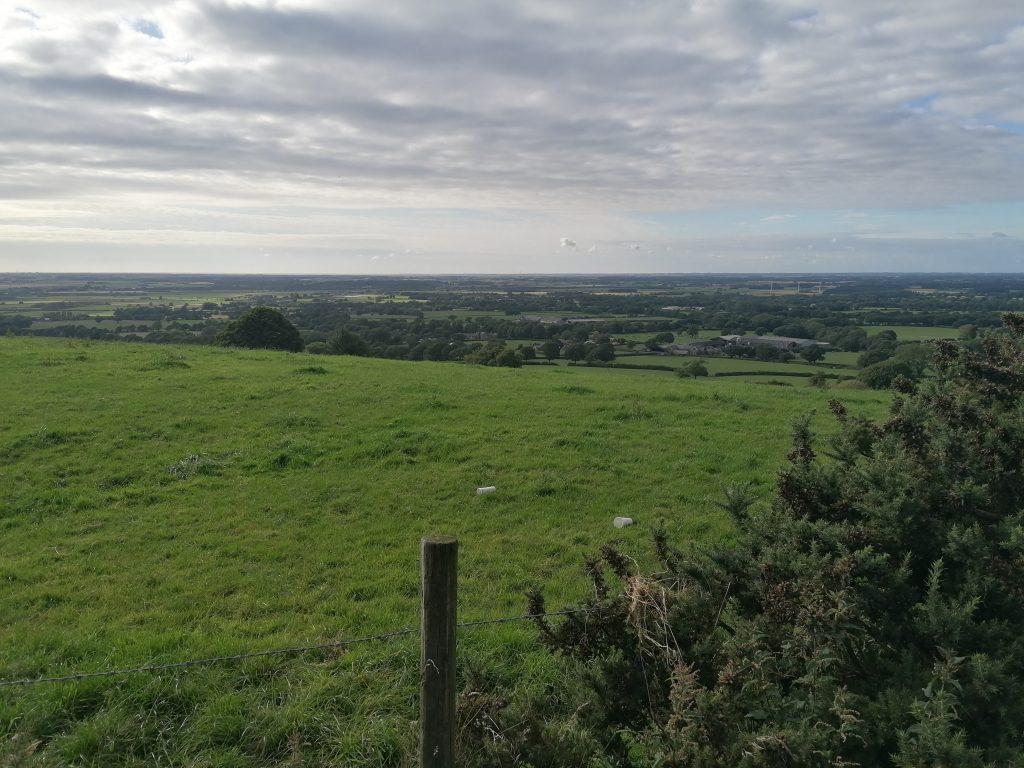 Parbold Walk Views Across West Lancs