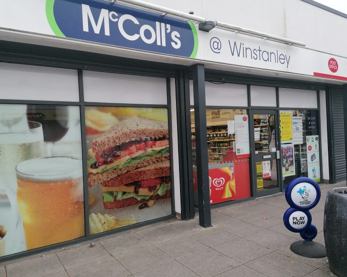 Winstanley Post Office Closing