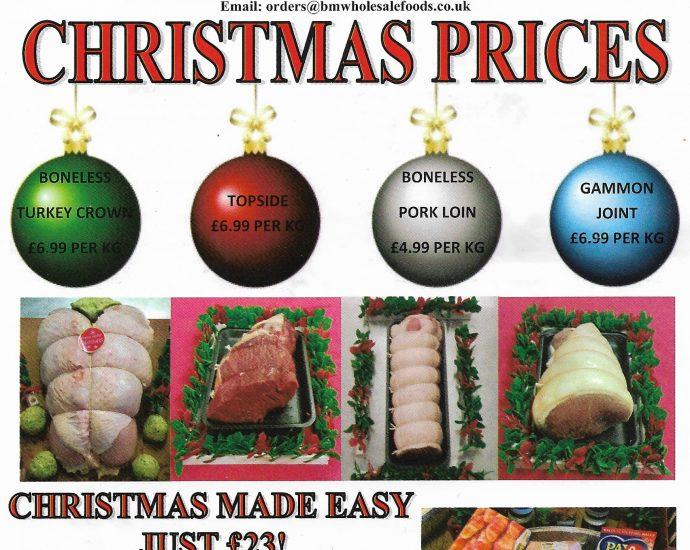 BM FOODS Christmas 2020