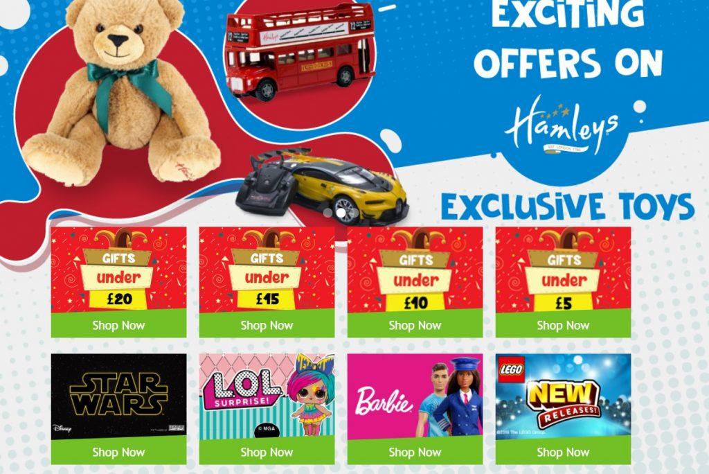 Hamleys Toy Shop Comes to Liverpool